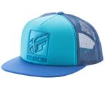 Fly Racing MX Motocross MTB BMX 2018 LUMPER Hat/Cap (Teal/Blue)