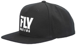 Fly Racing MX Motocross Kids Youth Logo Hat (Black)