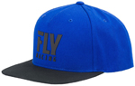 Fly Racing MX Motocross Kids Youth Logo Hat (Blue)