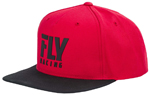 Fly Racing MX Motocross Kids Youth Logo Hat (Red)