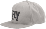 Fly Racing MX Motocross Kids Youth Logo Hat (Heather Grey)