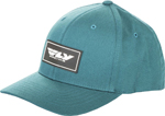 Fly Racing MX Motocross Stock Hat (Deep Teal)