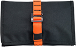 Biltwell Inc Exfil-0 Tool Roll (Black/Orange)
