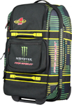 Pro Circuit Monster Energy Commander II Wheeled Gear Bag (Black; Green; Yellow)