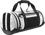 AMERICAN KARGO Motorcycle Duffle Bag w/4 point system (White)