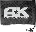 AMERICAN KARGO Goggle Cinch Bag (Black)