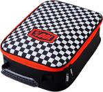 100% MX Motocross Goggle Case (CHECKERS Black/White/Red)
