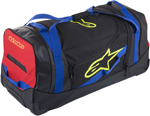 Alpinestars KOMODO Travel Gear Bag (Black/Blue/Red/Yellow Fluo)