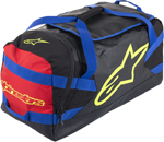 Alpinestars GOANNA Duffle Gear Bag (Black/Blue/Red/Yellow Fluo)