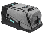 Thor MX Motocross Transit Wheelie Gear Bag (Gray/Black)