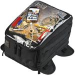 Biltwell Inc EXFIL-11 Magnetic Motorcycle Tank Bag (Black)