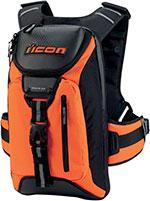 ICON Squad 3 Motorcycle Backpack w/ Laptop Pocket (Mil Spec Orange)
