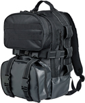 "Biltwell Inc Exfil-48 Backpack (Black) 11.5"" wide x 18"" tall x 10"" deep"