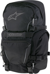 ALPINESTARS FORCE 25 Motorcycle Riding Backpack Gear Bag w/ Helmet Carrier (Black)