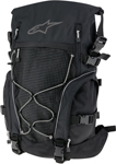 ALPINESTARS ORBIT 35 Motorcycle Riding Backpack Gear Bag w/ Helmet Carrier (Black)