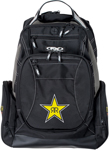 Factory Effex Official Licensed ROCKSTAR Backpack w/ Padded Laptop Pocket (Black)
