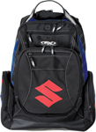 Factory Effex Official Licensed SUZUKI Backpack w/ Padded Laptop Pocket (Black)