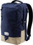 100% MX Motocross TRANSIT Backpack Gear Bag w/ Padded Laptop Pocket (Navy)