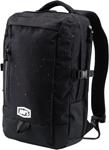 100% MX Motocross TRANSIT Backpack Gear Bag w/ Padded Laptop Pocket (Skylar Black)