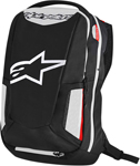 ALPINESTARS 2017 CITY HUNTER Commuter Motorcycle Backpack (Black/White/Red)