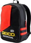 100% GEICO Honda Officially Licensed BACKPACK (Black)