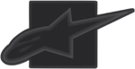 Alpinestars TOW HITCH COVER (Black/Black)