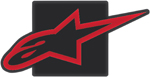 Alpinestars TOW HITCH COVER (Black/Red)
