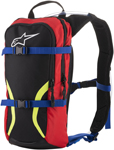 Alpinestars IGUANA Hydration Backpack (Black/Blue/Red/Yellow Fluo)