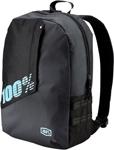 100% MX Motocross PORTER Backpack Gear Bag w/ Integrated Padded Laptop Sleeve (Charcoal Black)