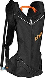 THOR MX Motocross 2016 VAPOR 2L Slim Profile Hydration Pack (Black/Red Orange)