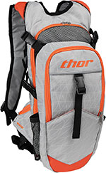 THOR MX Motocross 2016 HYDRANT 3L Hydration Pack w/ Extra Storage (Cement/Orange)