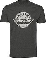 FLY Street - SPROCKET Short Sleeve Premium Fit T-Shirt (Grey)