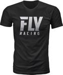 Fly Racing MX Motocross Logo Tee (Black)