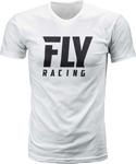 Fly Racing MX Motocross Logo Tee (White)