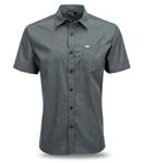 FLY RACING 2017 Button-Up Short Sleeve, Slim Fit Shirt (Dark Grey)