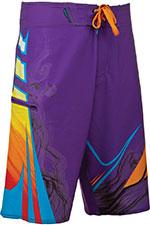 FLY RACING Acetylene Board Shorts (Purple/Orange)