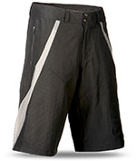 FLY RACING Hydrogen Vented Performance Shorts W/Chamois (Black)