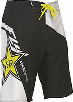 FLY Racing - Rockstar Boardshorts (White/Black/Yellow)