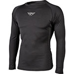FLY RACING Base Layer Lightweight Shirt (Black)