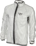 FLY RACING Motorcycle Rain Jacket (Clear)