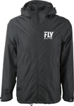 Fly Racing MX Motocross Pit Jacket (Black)