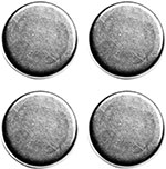 ICON Replacement Motorcycle Tank Bag Magnet Set (4pc.)