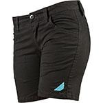 FLY RACING Ladies MID-LENGTH Shorts (Black)