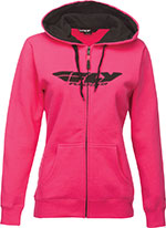 Fly Racing - CORPORATE Hoodie (Pink)