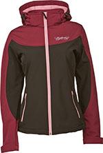 FLY RACING Ladies Pinned & Needles Windproof Jacket (Berry/Black)