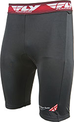 FLY Racing MX Motocross BMX - Chamois Shorts (Black)