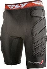 FLY Racing MX Motocross BMX - Compression Shorts (Black)