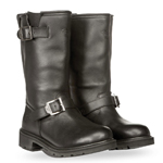 HIGHWAY 21 Men's PRIMARY ENGINEER Leather Riding Boots (Black)