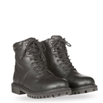HIGHWAY 21 Men's RPM Lace-Up Leather Riding Boots (Black)