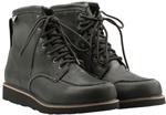 Highway 21 Men's JOURNEYMAN Work/Motorcycle Riding Boots (Black)
